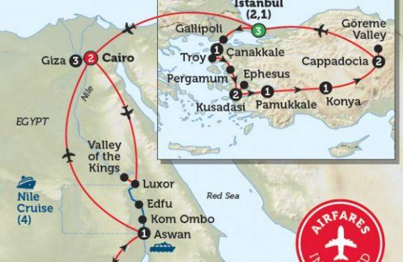 Best of Egypt & Turkey