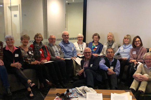 Our 2019 Greece Tour will start in Thessaloniki and finish in Santorini – but it really, really started with our pre-departure Get-Together Lunch at the Bentleigh Club on 31 August 2019.