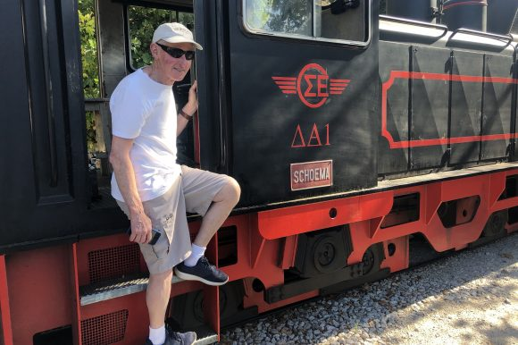 Graham's Great Train Journey No 2 – this time in Greece.